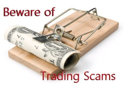 Beware of Trading Scams!